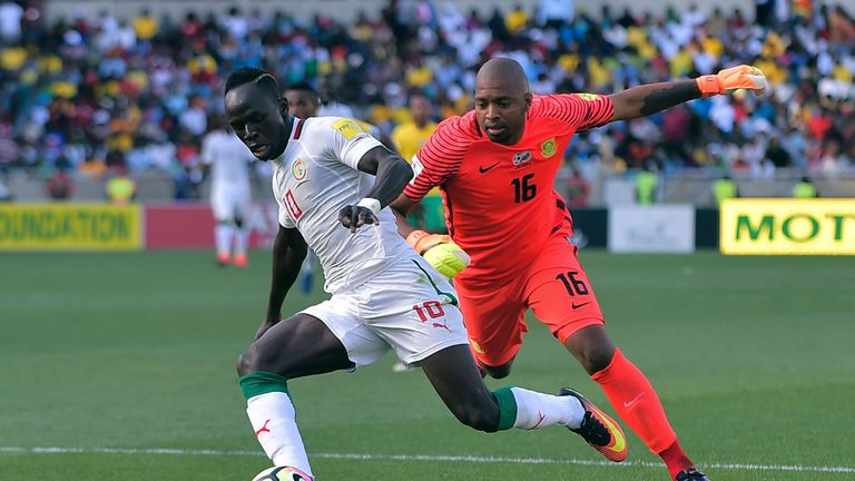 Sadio Mane will play a key role for Senegal in Russia