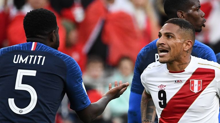 Peru were beaten 1-0 by Denmark and France in Group C
