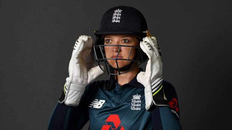 Sarah Taylor retired from international cricket in September 2019