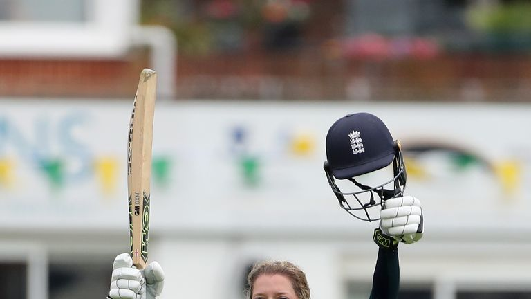 Sarah Taylor scored her seventh ODI century this summer in the win over South Africa