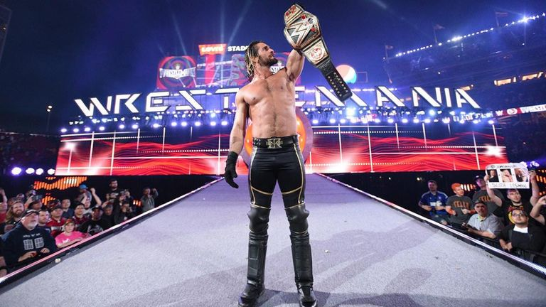 Could Seth Rollins be about to begin his journey to another huge WrestleMania moment with a Royal Rumble win?