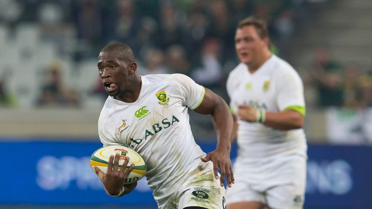Kolisi made his debut for South Africa against Scotland in 2013