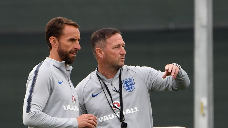 Gareth Southgate and Steve Holland have formed a solid bond for England