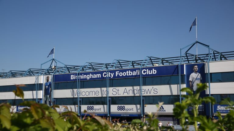 Birmingham have played at their home ground under the name of St Andrew's for more than a century