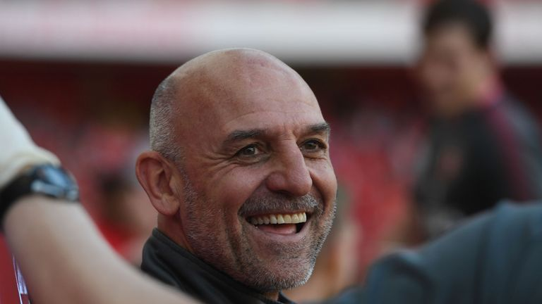 Steve Bould has been retained as one of two assistants to Unai Emery