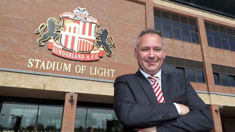 Stewart Donald took over Sunderland last month