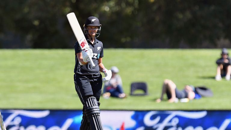 New Zealand Women break their own record with highest ODI total | Cricket News | Sky Sports