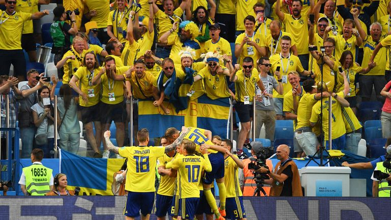 The Sweden squad have been hit with a sickness bug ahead of their game against Germany