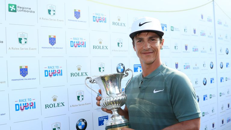 Thorbjorn Olesen held off home favourite Molinari at Gardagolf CC