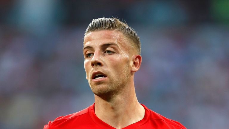 Alderweireld finished third with Belgium at the World Cup in Russia