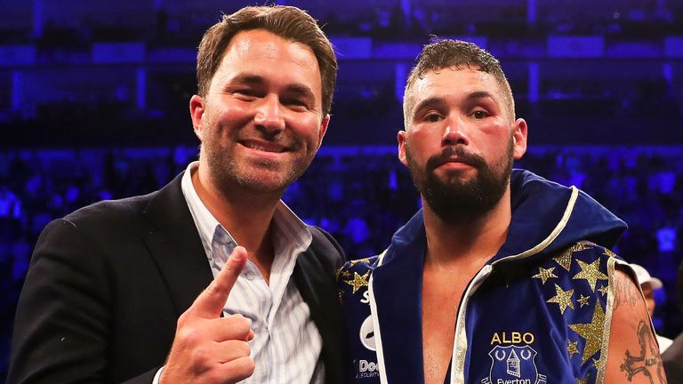 Eddie Hearn to hold talks with Oleksandr Usyk's team this week