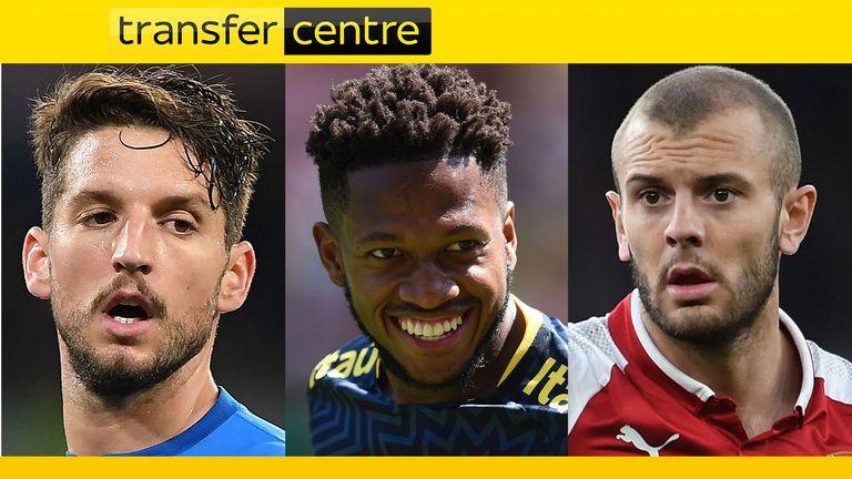 Transfer Centre - Mertens, Fred, Wilshere
