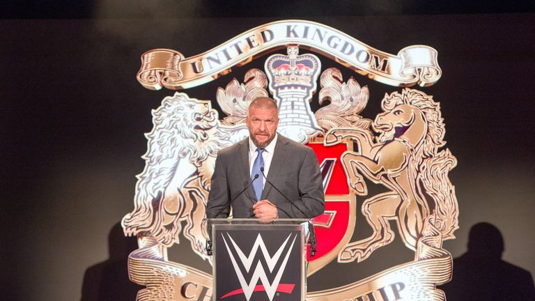 Triple H is a huge fan of the new wave of British wrestling talent
