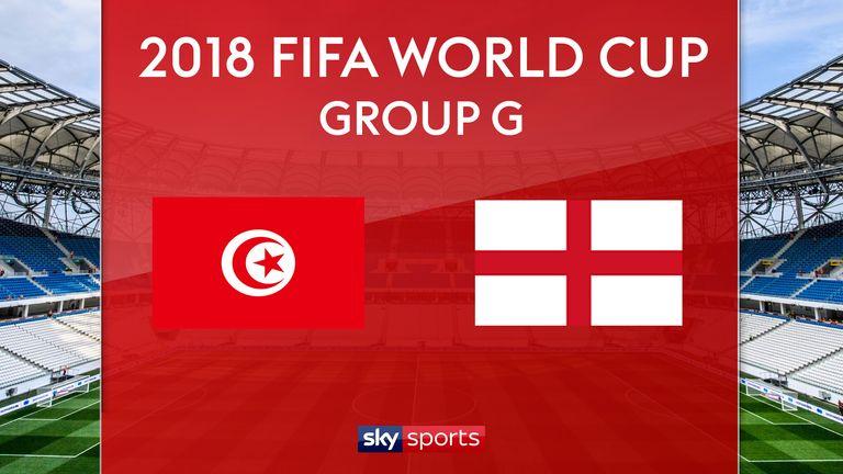 Match Preview - Tunisia vs England   18 Jun 2018