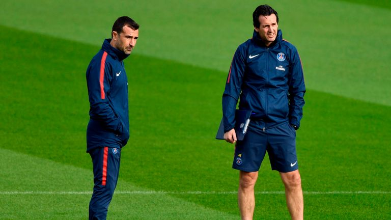 Carcedo has worked with Emery at Almeria, Valencia, Spartak Moscow, Sevilla and PSG