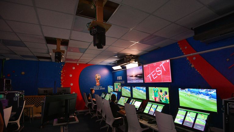 The VAR HQ in Moscow where all relevant incidents are reviewed