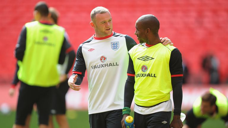 Wayne Rooney and Jermain Defoe are former England team-mates