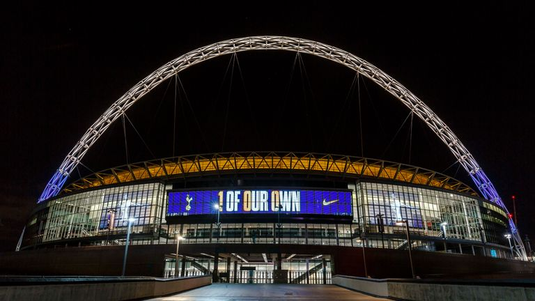 Tottenham played all their 2017/18 home games at Wembley