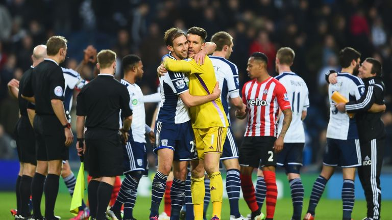 Craig Dawson and Ben Foster missed West Brom's pre-season trip to Portugal
