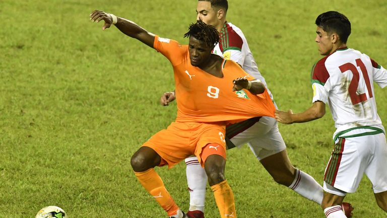 Zaha committed to the Ivory Coast in 2016