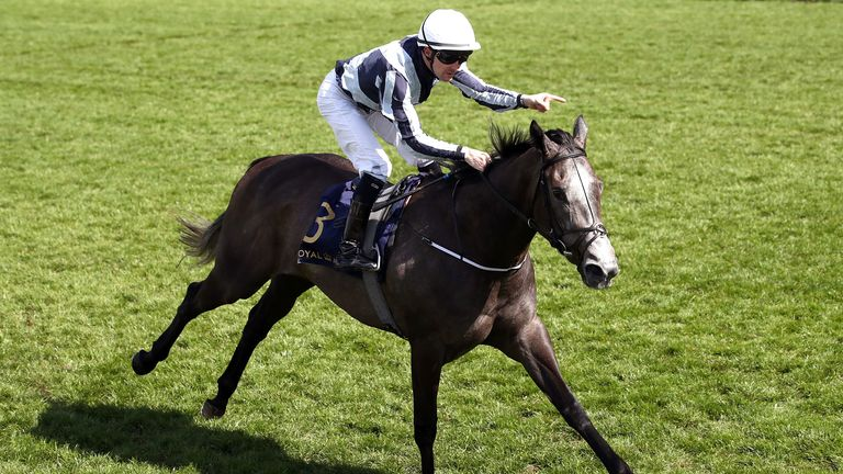 Alpha Centauri wins the Coronation Stakes under Colm O'Donoghue