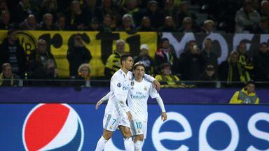 Cristiano Ronaldo was beaten to the award by former team-mate Luka Modric