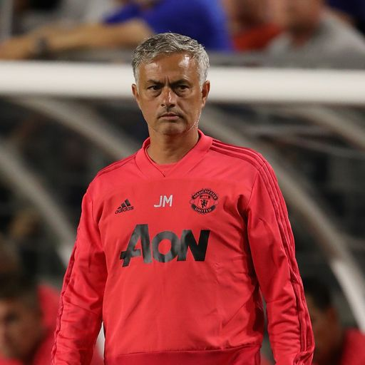Jose 'not happy' with pre-season