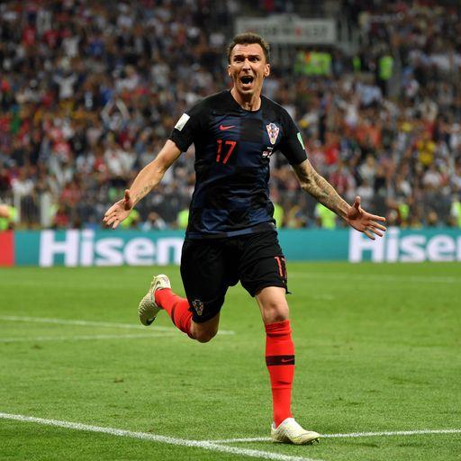 Mandzukic dashes England dreams