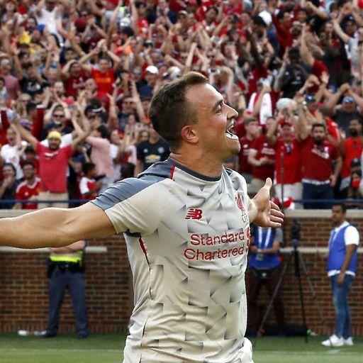 Liverpool run riot against flat Utd
