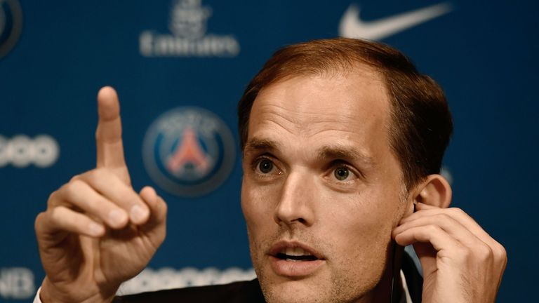 Thomas Tuchel was named PSG manager in the summer