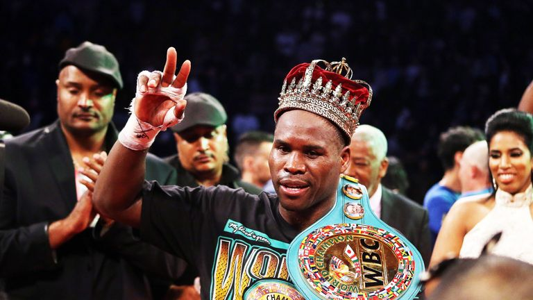 Canadian-based Stevenson holds the WBC title at 175lbs