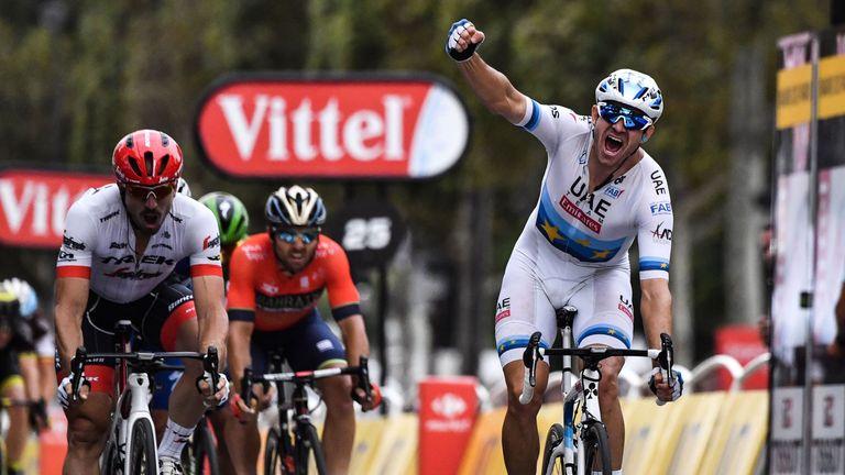 Alexander Kristoff wins final stage of Tour de France