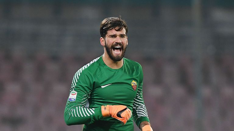 Alisson has been linked with a move to Liverpool since the winter transfer window
