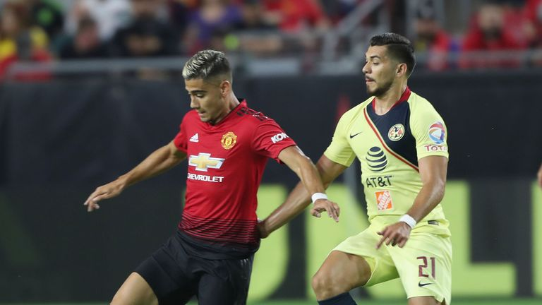 Andreas Pereira has clocked considerable game time during the pre-season schedule