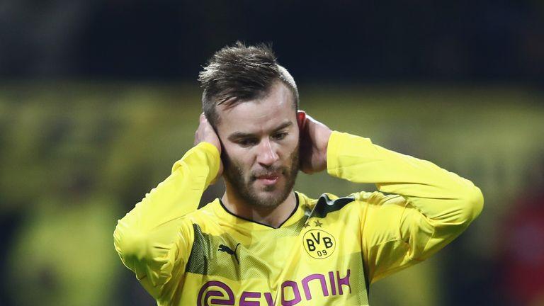 Yarmolenko failed to make an impact during a season with Dortmund