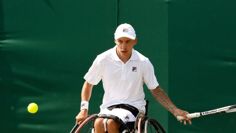 Lapthorne is the British No 1 and relishes his partnership with Wagner