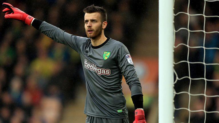 Gunn spent last season on loan at Norwich City