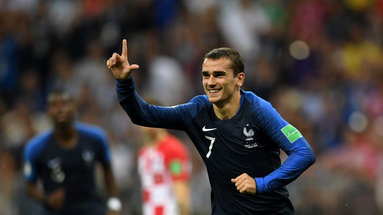 Antoine Griezmann has won the World Cup but not the Ballon d'Or