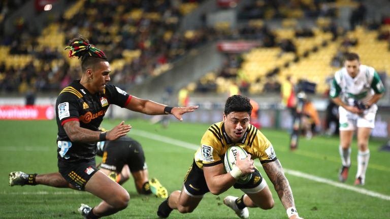 Ben Lam has been in superb try-scoring form for the Hurricanes this season