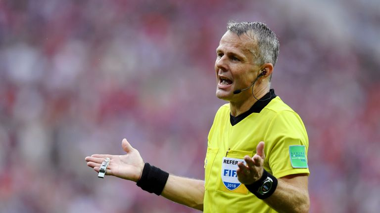 Bjorn Kuipers will take charge of Sweden vs England on Saturday
