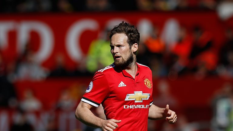 Daley Blind made 17 appearances for Manchester United last season