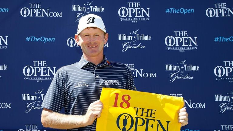 Brandt Snedeker's tie for third at The Greenbrier secured his Open place