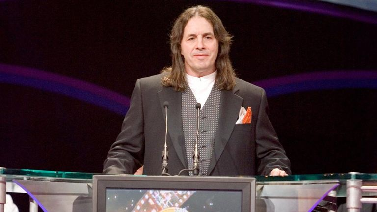 Bret Hart was inducted into the Hall of Fame in  2006 as began to make peace with the WWE.