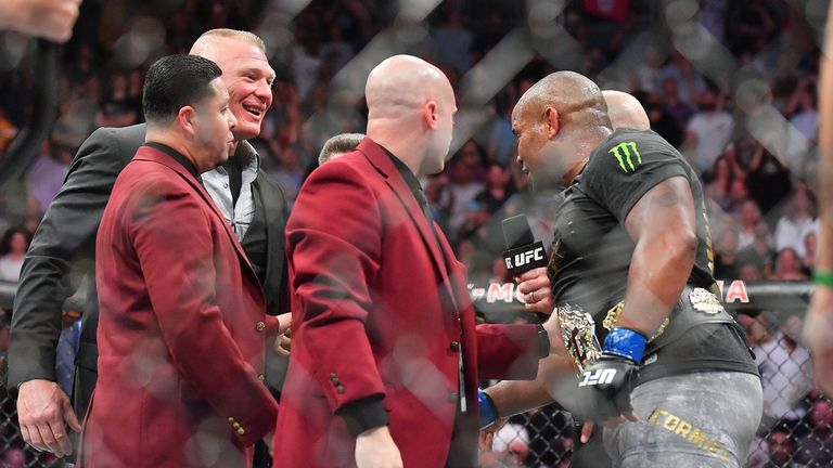 It is widely predicted that Cormier will face current WWE Universal champion Brock Lesnar in the octagon in 2019