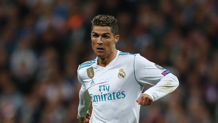 Cristiano Ronaldo during the UEFA Champions League Semi Final, Second Leg match between Real Madrid and Bayern Munich