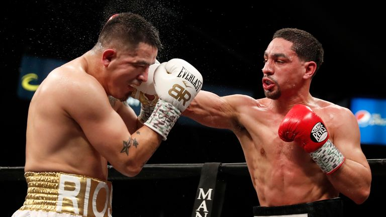 Danny Garcia coming to New York to trade with Shawn Porter