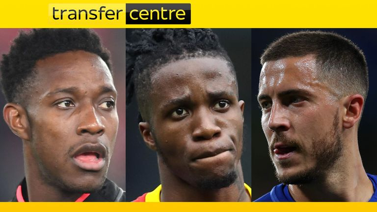 Transfer Centre - Welbeck, Zaha, Hazard