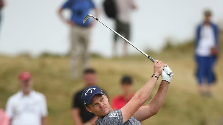 Danny Willett bounced back from a poor front nine with four birdies in a row