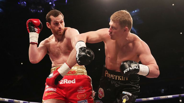 David Price shared the ring with Povetkin on Joshua's undercard at Cardiff