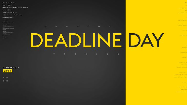 transfer deadline day on sky sports key timings and how to follow